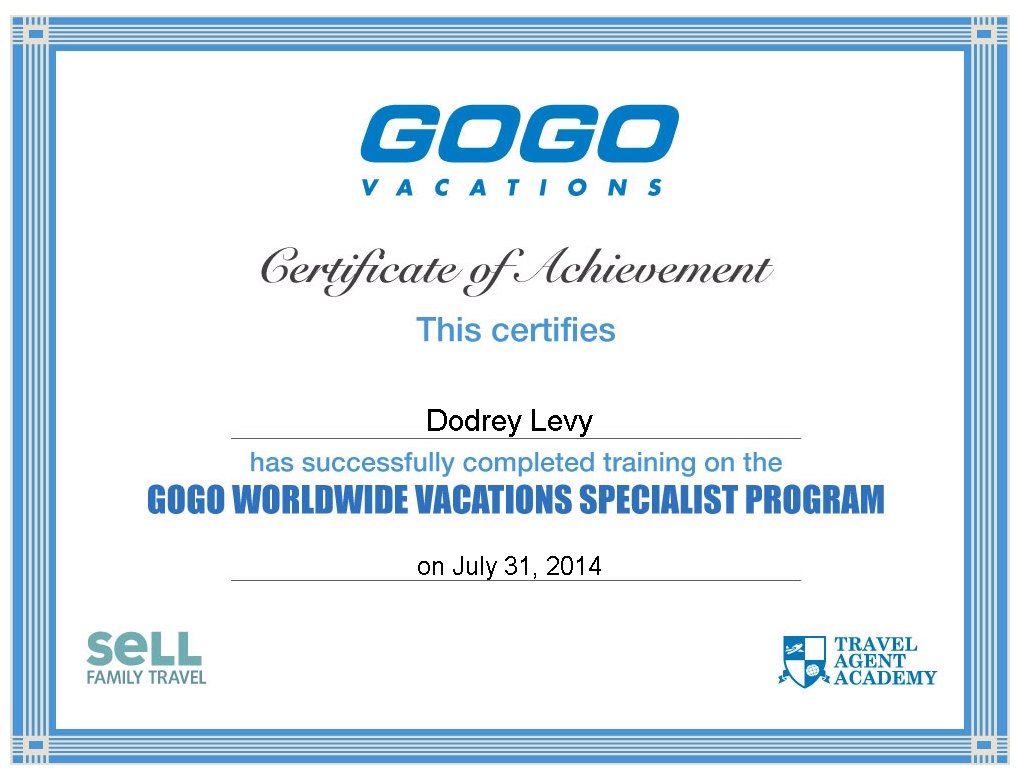 Dodrey Levy Travel And Tours Pro Travel Network